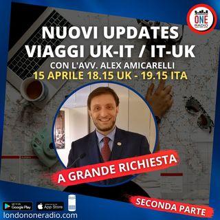 Seconda Parte: Vaggi UK-IT con l'Avv.  Amicarelli