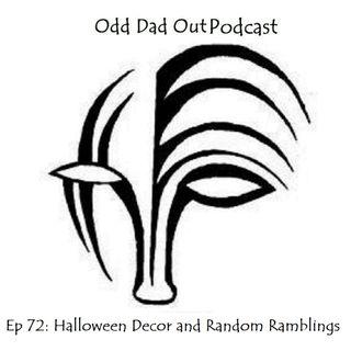 Halloween Decor and Random Ramblings: ODO 72
