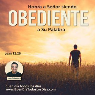 Honra al Señor con tu obediencia