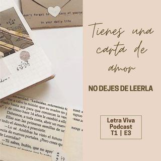 Tienes una carta de amor