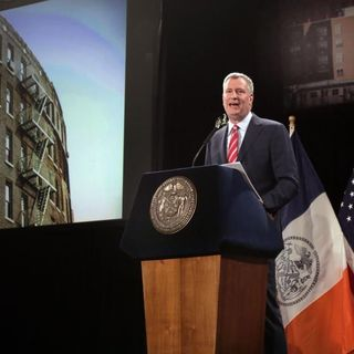 Leslie on DeBlasio's Affordable Housing