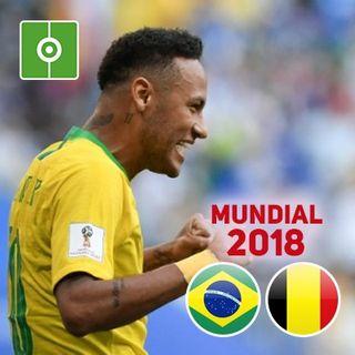 Revive el partido: Brasil-Bélgica