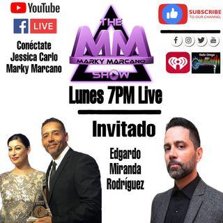 Escritor y Comics Edgardo Miranda-Rodriguez en TheMarkyMarcanoShow