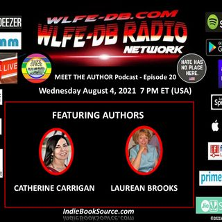 MEET THE AUTHOR Podcast - Episode 20 - CATHERINE CARRIGAN & LAUREAN BROOKS