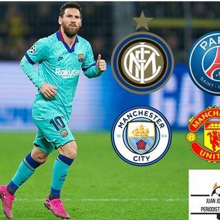 ¿A donde va Messi? Agentes libres 2021!