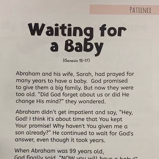 Episode 4- Waiting For A Baby Genesis 15-17