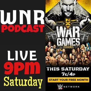WNR254 WWENXT TAKEOVER WARGAMES LIVE
