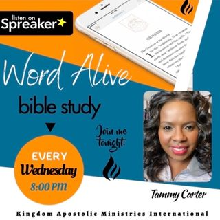 """Word Alive Bible Study- Healing Series- """"Healed by Faith"""""""