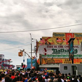 Nathan´s hot dog eating contest
