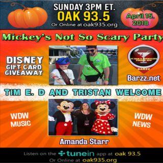 Walt Disney World Magic Florida Podcast 4-15-2018