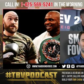 ☎️Andre Ward Verbal SPARRING With Eddie Hearn😱Over Tyson Fury vs Dillian Whyte🔥