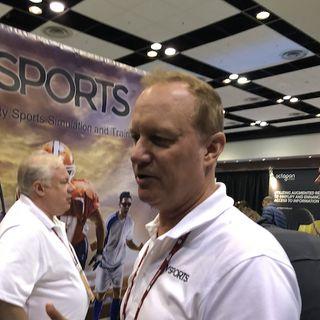 A Conversation with Tom Kidorla, VSports -VGolf, Live at AWE2018