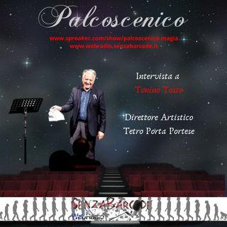 Tonino Tosto, direttore artistico Teatro Porta Portese