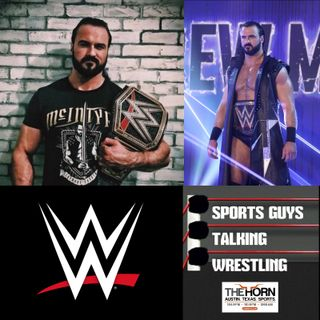 SGTW Talks To WWE Champion Drew McIntyre Oct 9 2020