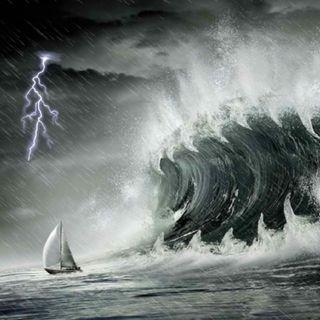 Faith during the storm Luke 8:25