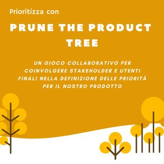Metodi di prioritizzazione: Prune The Product Tree