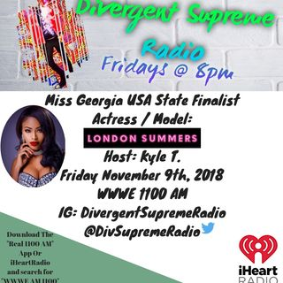 Miss Georgia USA State Finalist; London Summers