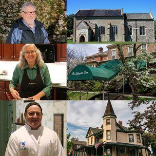 Big Blend Radio Spotlight on Historic Easton in England, Pennsylvania, Maryland