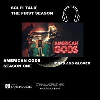 Orlando Jones And Crispin Glover American Gods Season One