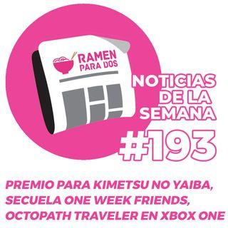 193. Premio para Kimetsu no Yaiba, Octopath Traveler para Xbox One