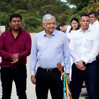 Destaca el presidente López Obrador, la entrega de recursos en Oaxaca
