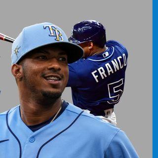 MLB: WANDER FRANCO extiende racha a 33 pero sale del juego