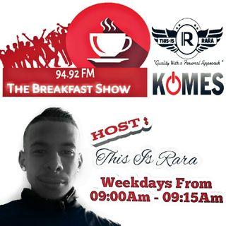 Breakfast Show 94.92 FM _ PROMO VIDEO #TODBirthdayTour #MFR