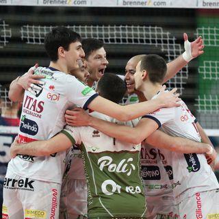 Lucarelli, Nimir e Lorenzetti dopo il 3-2 su Monza
