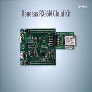 Renesas: Getting Started with Renesas RX65N Cloud Kit
