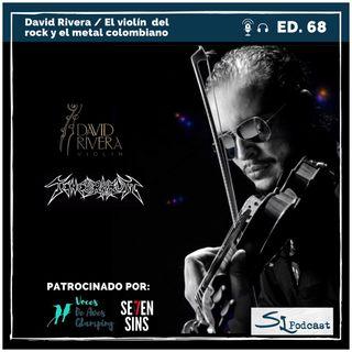Ed.68 / David Rivera – El violín del rock y el metal colombiano