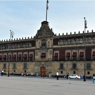 Presidente recibe a empresarios en Palacio Nacional