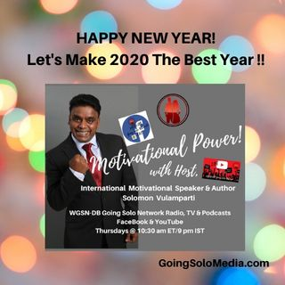 Let's Make 2020 The Best Year  - Motivational Power1