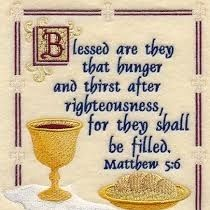 PRAYER -We Hunger/Thirst 4 Righteousness