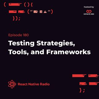 RNR 180 - Testing Strategies, Tools, and Frameworks