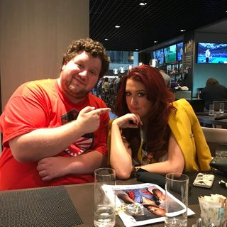 We are Live!!!...sorta...at Starrcast! With SoCal Val!