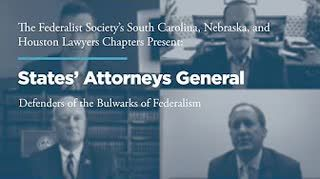 States' Attorneys General:  Defenders of the Bulwarks of Federalism