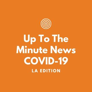 UP TO THE MINUTE NEWS PODCAST-COVID-19  Serving Seniors 6K Meals 5-26-20