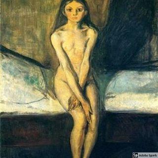 La Pubertà  Munch