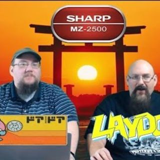 Sharp MZ Computer - Laydock and Door Door MKII - ARG Presents 101