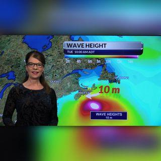 Cindy Day's update on Hurricane Teddy