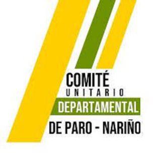Brayan Garcia Comité Departamental Paro