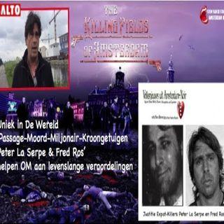 Uniek in De Wereld :'Passage-Moord-Miljonair-Kroongetuigen La Serpe & Ros helpen OM aan Levenslange veroordelingen.
