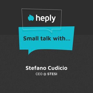 Small Talk With...Stefano Cudicio