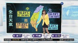 21:18 颱風「帕布」生成 週四前降雨機率大 ( 2019-01-01 )