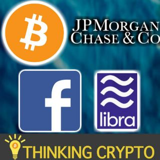 JP MORGAN BITCOIN JOB - TOKENS ON LIGHTNING NETWORK - BINANCE & BITTREX US TRADING - FACEBOOK LIBRA