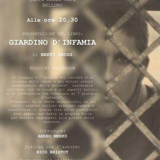 """Intervista a Berti Bruss autore del libro """"Giardino d'Infamia"""""""