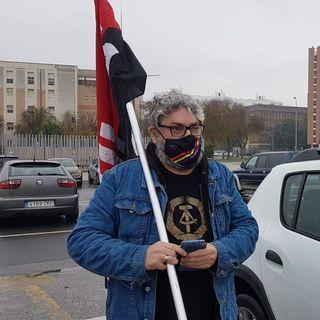 Manifestación en Sevilla Contra el Bloqueo Imperialista a Cuba