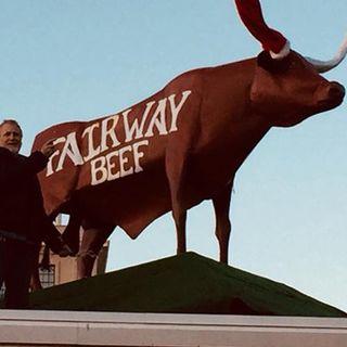 Bull Sculpture Atop Worcester Meat Shop Vandalized
