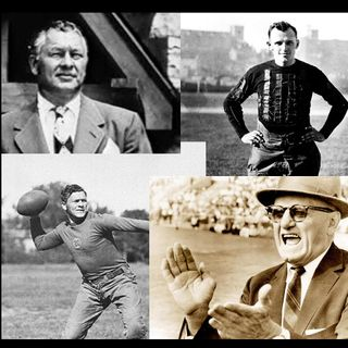 George Halas & Curly Lambeau - the amazing Packer/Bears rivalry.