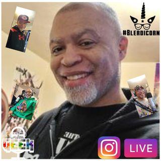 DYSG Live w/ @navymontell #BlerdiconSpeaks